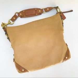 Authentic Coach Carly XL Leather Hobo Bag